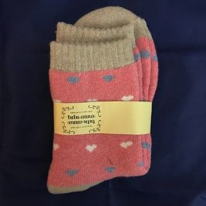 Women Socks - 100% Cotton - Pink